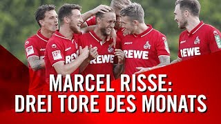 Marcel RISSE trifft drei Mal zum TOR DES MONATS | 1. FC Köln