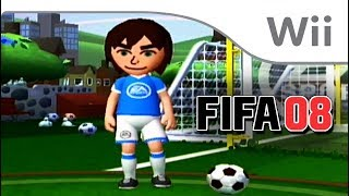A Look @ FIFA 08 on Wii!