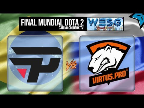 [PT-BR] Final Copa do Mundo Dota 2 - Brasil (Pain) vs Russia (Virtus.pro) WESG 2017
