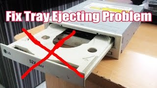 Video How to fix a DVD drive's tray that doesn't open or eject download MP3, 3GP, MP4, WEBM, AVI, FLV Agustus 2018