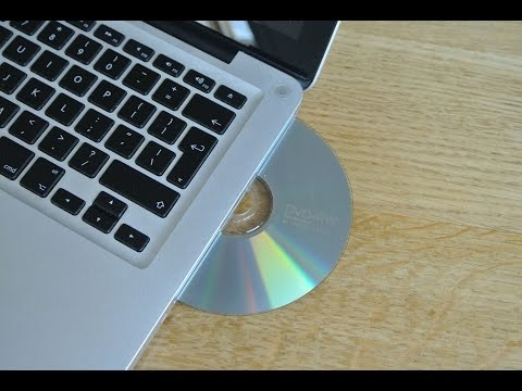 Macbook Pro 2011 insert and eject CD DVD noise stereo sound effect HQ 96kHz