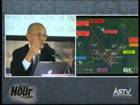 """2013/11/15 """"ทูตวีรชัย"""" โอดอย่าด่วนสรุปไทยเสียกี่ไร่ คดีเขาพระวิหารจะเสียประโยชน์คุยกับเขมร"""