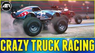 MONSTER TRUCK RACING!!! - MMX Racing