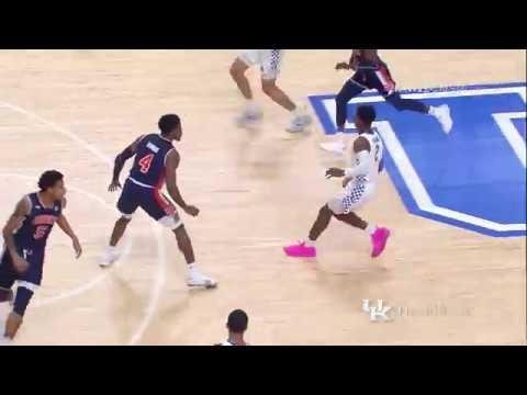 MBB: Kentucky 80, Auburn 53 Highlights