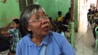 ADA activist, Salve, talks about the aftermath of Typhoon Haiyan