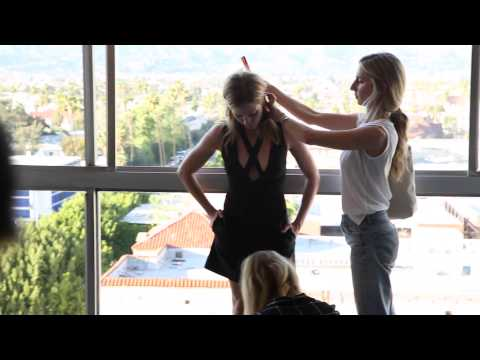 Behind the Scenes with Brittany Snow