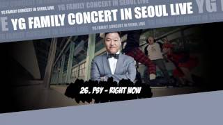 [YG FAMILY CONCERT] 26. PSY - Right Now [YG FAMILY CONCERT IN SEOUL LIVE - 2014]