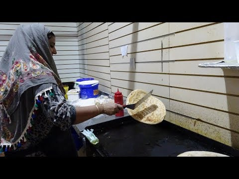 Delicious Aloo Paratha: Indian / Pakistan Street Food by