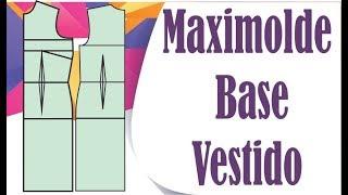 106c4457d0 Aula Modelagem Molde Vestido Base Maximolde -Pasta Social ...