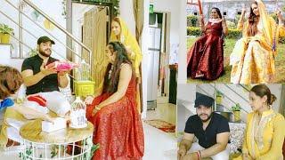 Rakhi Vlog 2020 Celebration of Rakshabandhan gifts/Sawan Ka Mahina Jhule/Peenga