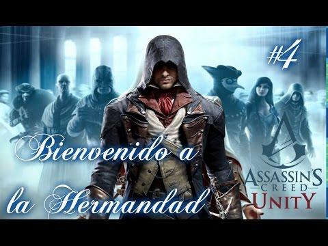 Bienvenido a la Hermandad!! (AC Unity Historia #4 PS4)