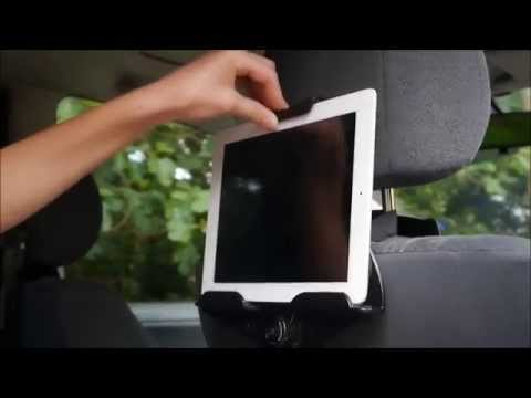 2573e90814c Targus in car tablet holder review and unboxing - YouTube