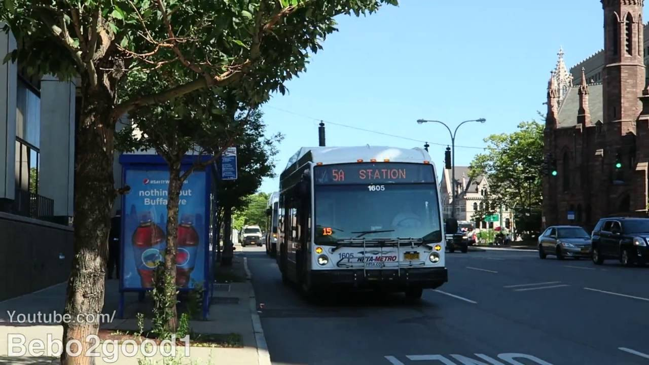 Niagara Nfta Lfs Bus Routes 5 25 At Ny Route 5 Franklin St Buffalo You