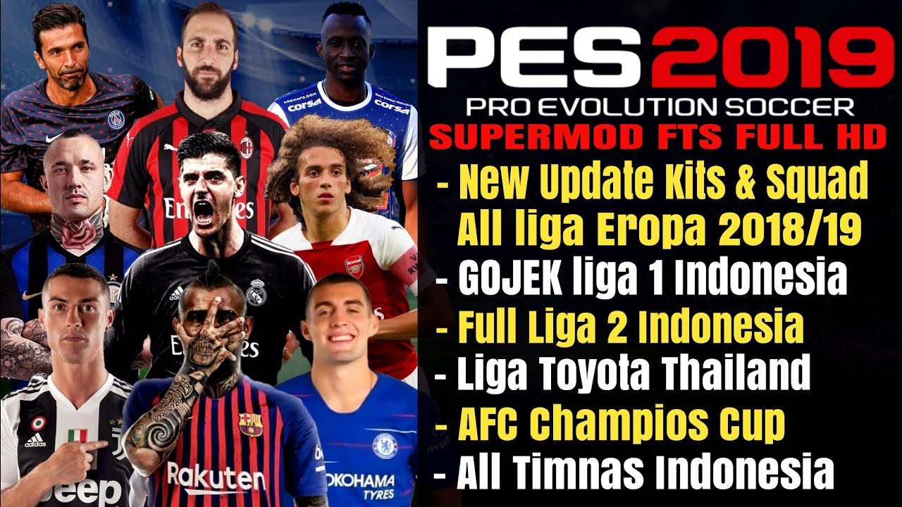 Download PES 2019 Mod Asia By Gila Game Apk Data Obb ...