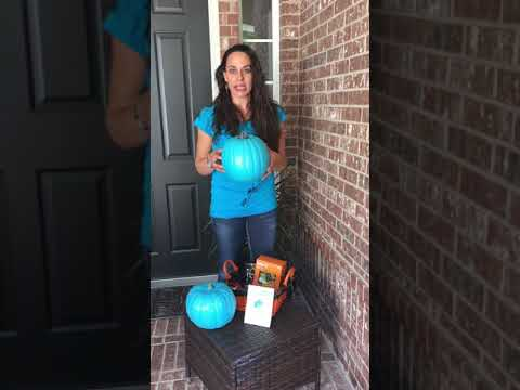 Teal Pumpkins Help Keep Kids Safe