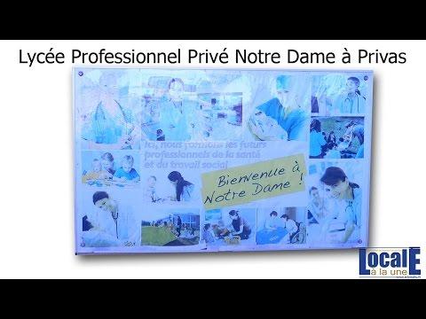 Reportage Lycée Pro Notre Dame de Privas