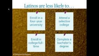 The State of Latinos in Higher Education in California