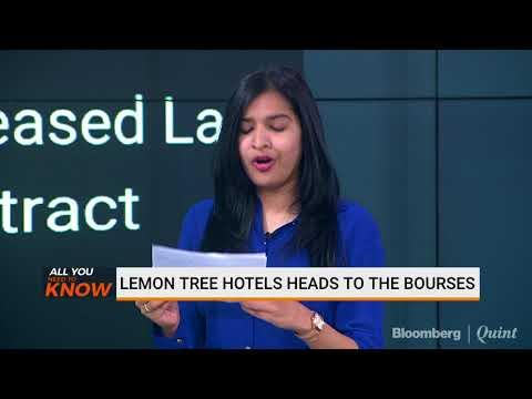 Lemon Tree Hotels Head To The Bourses