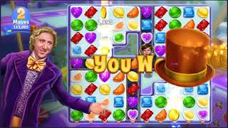 Wonka's World of Candy Level 525 - NO BOOSTERS + FULL STORY ???? | SKILLGAMING ✔️