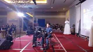 Cover images Howard Wong 9 yrs Drum Solo
