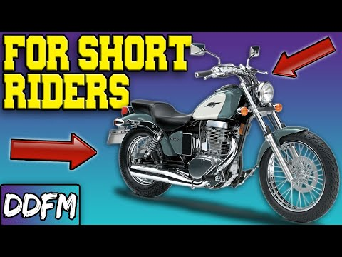 The Easiest Cruiser Motorcycles For Shorter Riders!