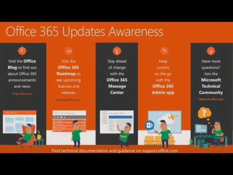 Microsoft Ignite 2016 Review Office 365 release, change, and communication