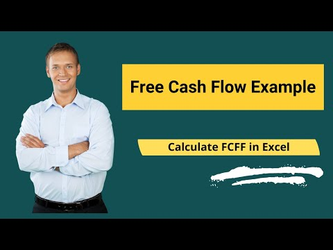 Free Cash Flow Example | Calculate FCFF In Excel