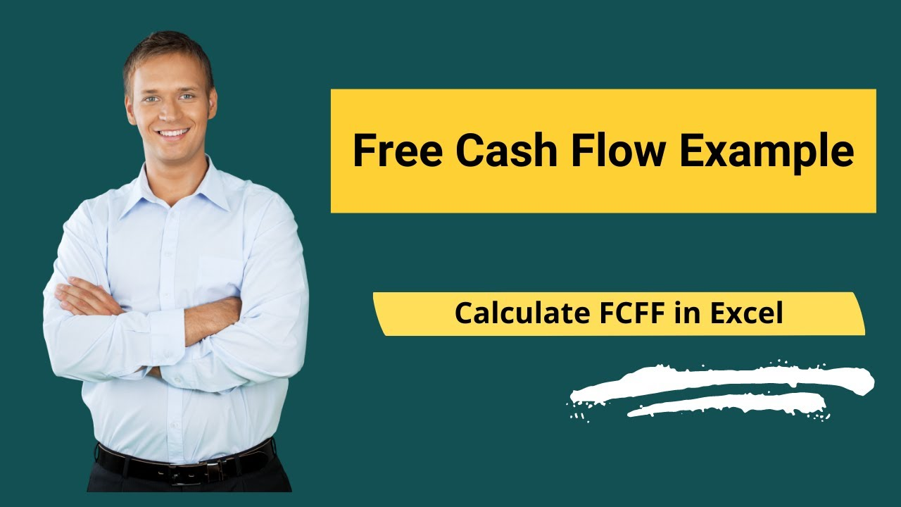 free cash flow example calculate fcff in excel youtube. Black Bedroom Furniture Sets. Home Design Ideas