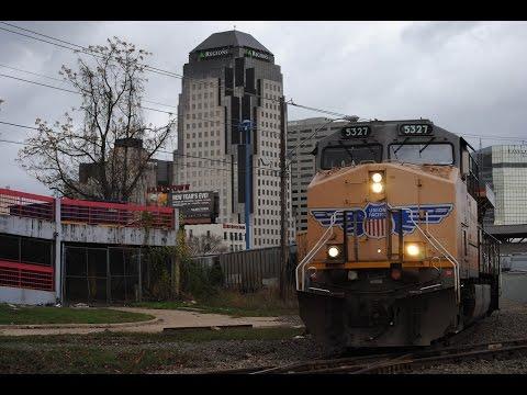 HD: Railfanning Shreveport, LA w/ KCS & UP Action