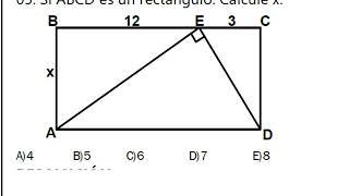 RELACIONES MÉTRICAS (EJERCICIOS TIPO EXAMEN FASE 1-2) UNJBG