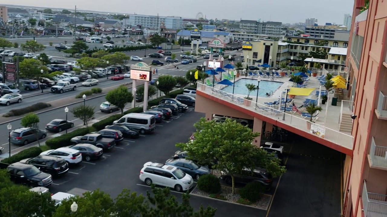 Trashy Delaware Hydraulic Elevator The Grand Hotel Parking Garage In Ocean City Md Youtube