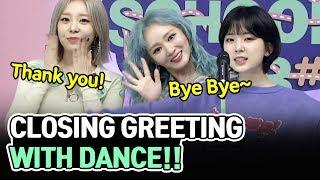 [AFTER SCHOOL CLUB] Closing greetings by LADIES' CODE (레이디스 …