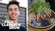 Behind The Scenes: Rooftop Garden At The Kelly Clarkson Show