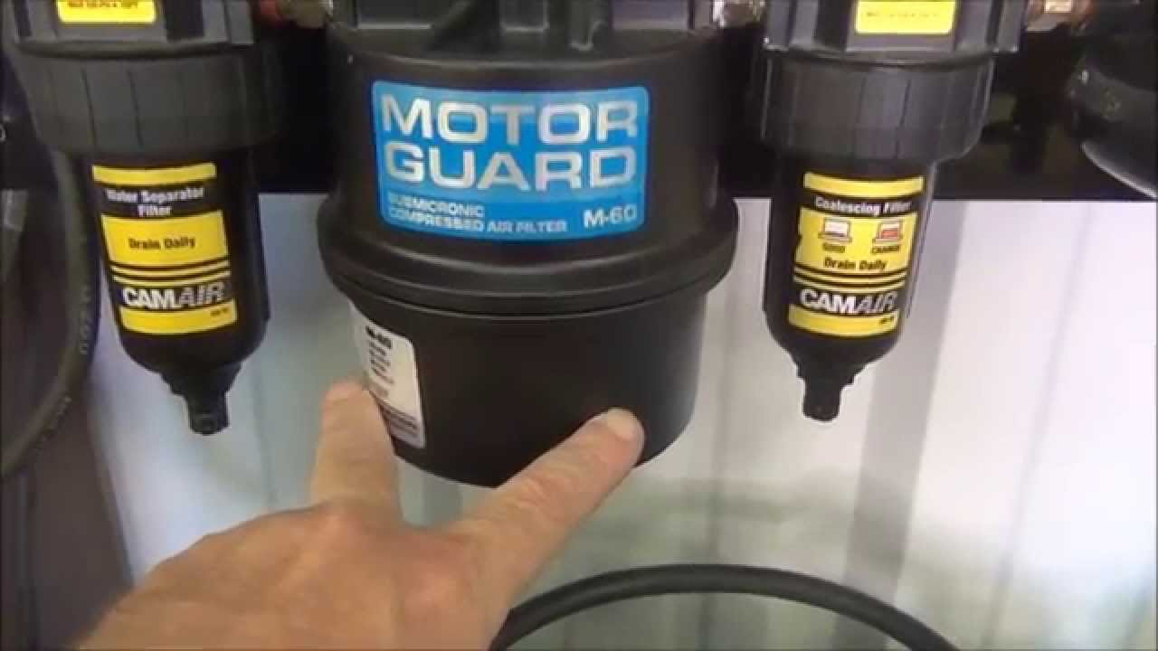 Air Dryer For Air Compressor >> MotorGuard M-60 Air filter Failed - YouTube