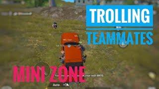 Trolling team mates 🤣 | Mini Zone | PUBG Mobile | Hruth Forever