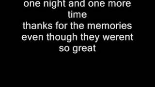 Fall Out Boy Thanks for the Memories Lyrics