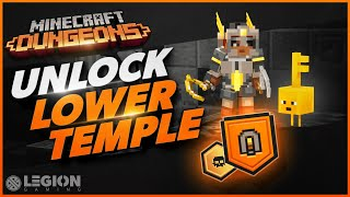 How To Unlock Lower Temple | New FREE Content - Minecraft Dungeons Jungle Awakens DLC