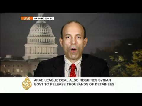Political analyst, Richard Weitz on Arab League mission