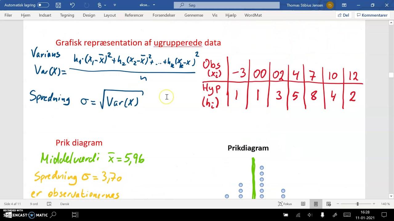1k 2020 21 v09 deskriptiv statistik ugrupperet kort betydning af varians og spredning