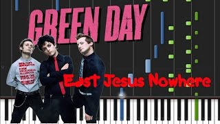 Green Day - East Jesus Nowhere Synthesia Tutorial