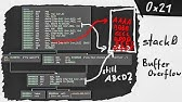 How to exploit a buffer overflow vulnerability - Practical - YouTube