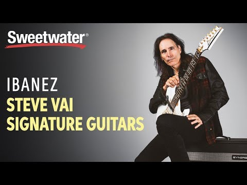 Ibanez Steve Vai Signature Guitars Overview