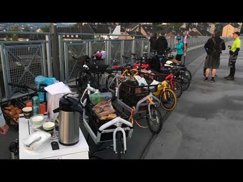 Breakfast on the Bridge - Autofreier Tag Wuppertal 2017