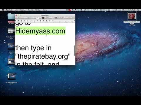 Undgå Spærring Af Thepiratebay.org // MEGET LET! //