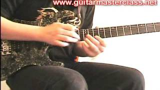 Emir Hot - Symphony X (Michael Romeo) style lesson