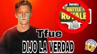 TFEU TOLD THE TRUTH OF BECAUSE IT WAS BANNED IN FORTNITE