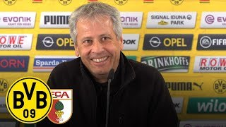 """""""Wir müssen uns schnell erholen!""""   Favre auf der PK   BVB - FC Augsburg"""