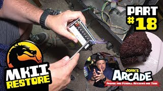 Mortal Kombat II Arcade Restore Part #18  Power Supply Install, Wiring, Troubleshooting and more