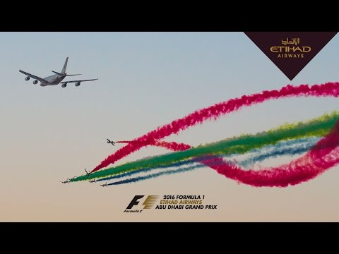 FLYBY - 2016 FORMULA 1 ETIHAD AIRWAYS ABU DHABI GRAND PRIX