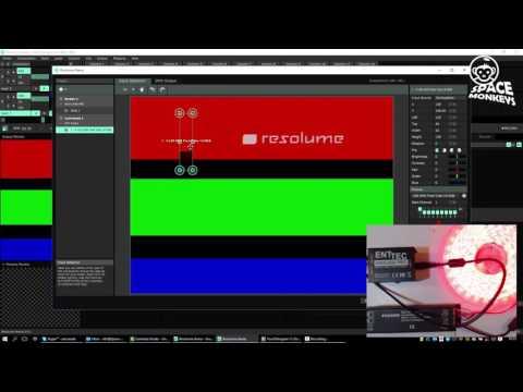 Resolume DMX OSC Touchdesigner (English)